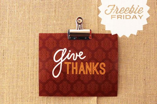 Freebiefriday_givethanks